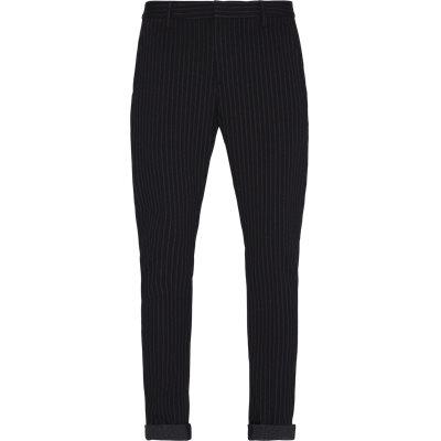 Stripe Pants Slim fit   Stripe Pants   Blå